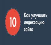 10 способов улучшить индексацию
